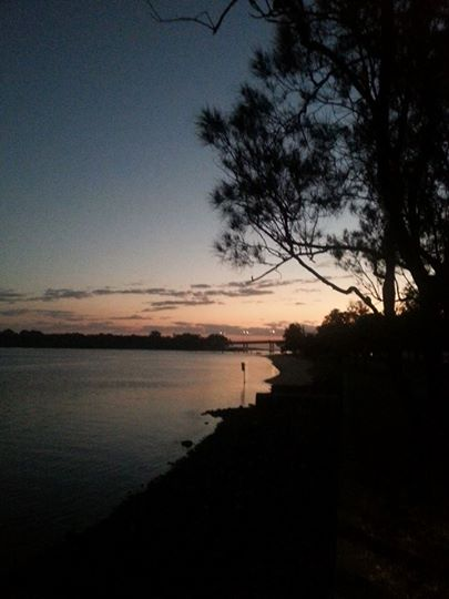 Currumbin Creek at sunrise