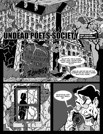 Undead Poets Society Pg 001